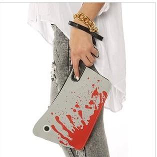 Chopper Knife Design Purse Clutch Handbag
